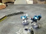 The Tau Route the last of the Ork Boys and capture to Big Mek Warlord to pull out an upset victory